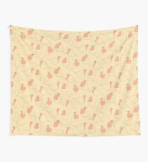 Robin's Egg in Yellow Wall Tapestry