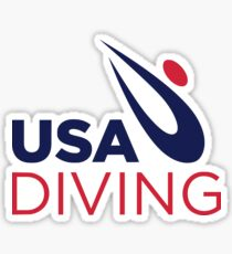 USA Diving Sticker