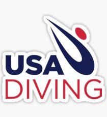 USA Tauchen Sticker