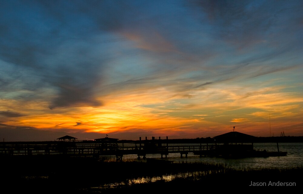 Sunset on the Marsh by Jason Anderson