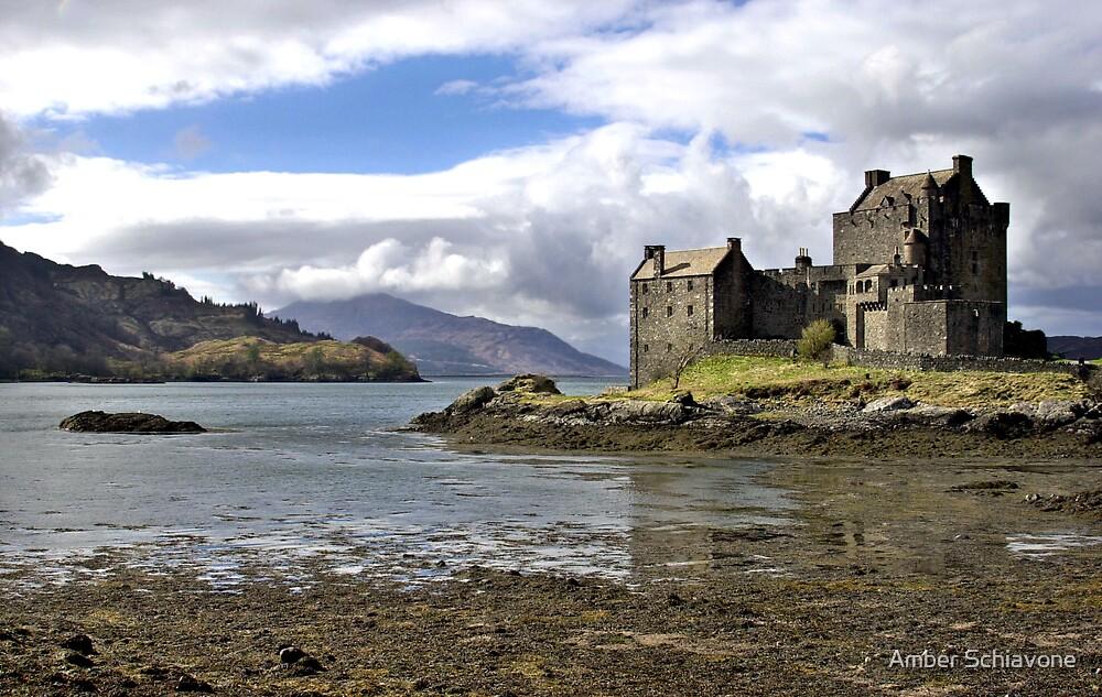 Eilean Donan Castle Scotland by Amber Schiavone