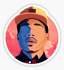 Chance the Rapper - Coloring Book Background Sticker