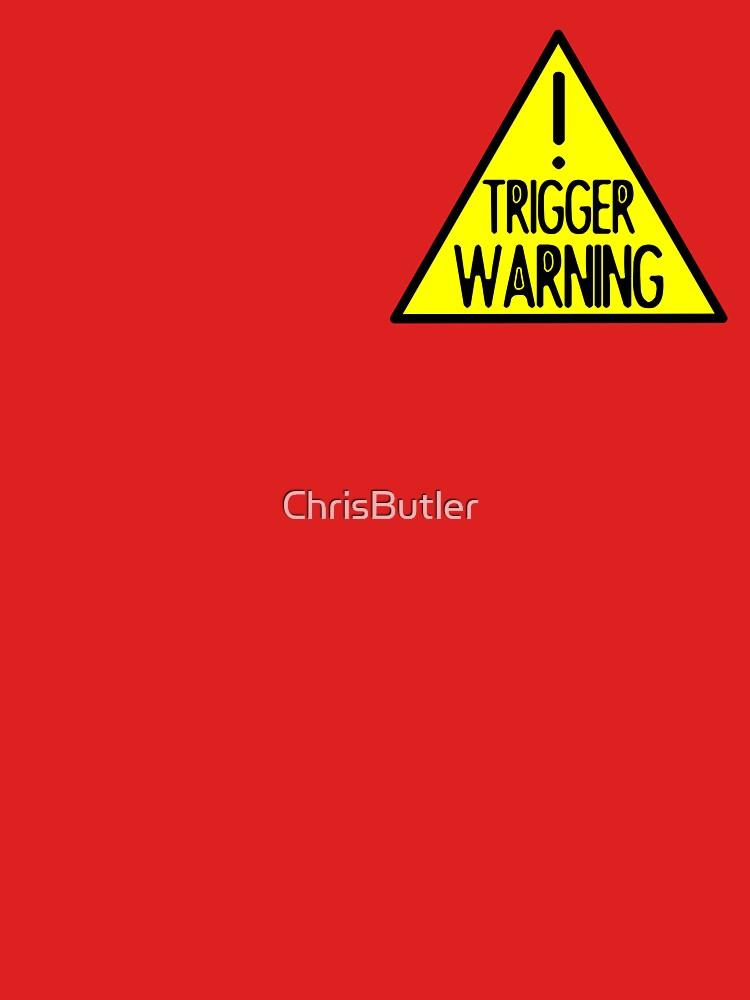 TRIGGER WARNING POCKET SIZE by ChrisButler
