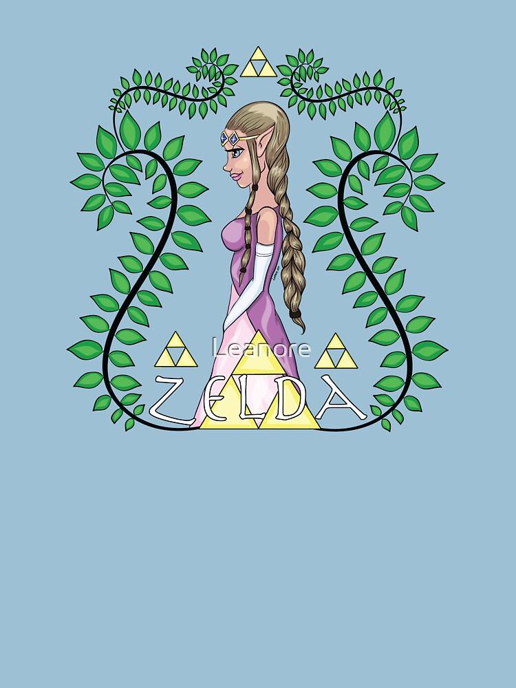 Zelda, Princess of Hyrule by Leanore