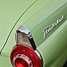 1956 Ford Thunderbird Taillight by Linda Bianic