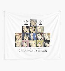 Tela decorativa Kingdom hearts II Organization 13 (color)