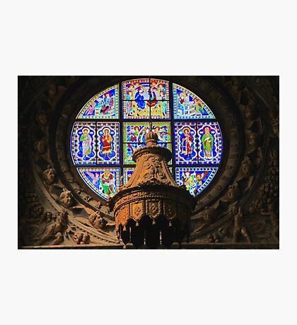 Duomo Window, Siena,Italy Photographic Print