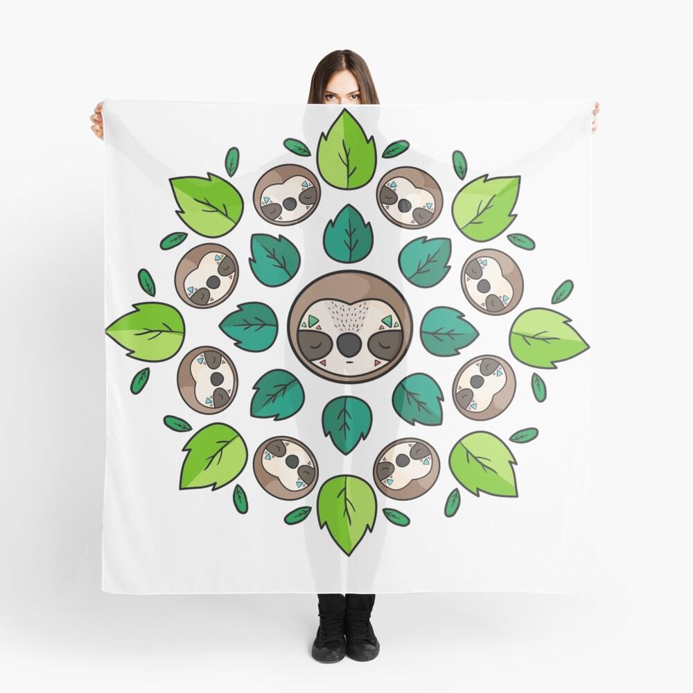 Mandala Sloth Scarf