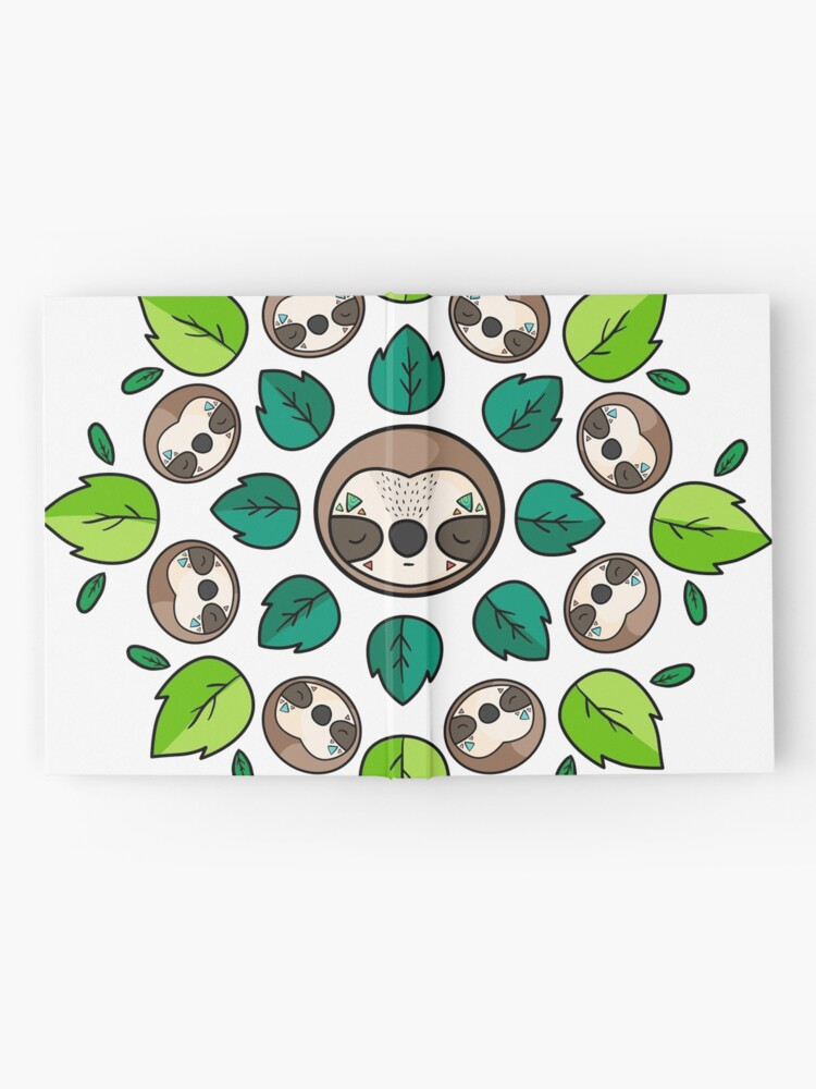 Alternate view of Mandala Sloth Hardcover Journal