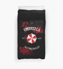Umbrella Training Facility Vintage Resident Evil (for dark colors) Duvet Cover