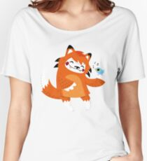 the fox and the bird Women's Relaxed Fit T-Shirt