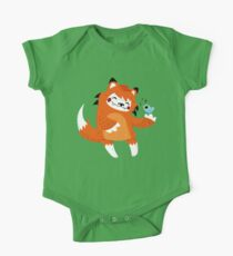 the fox and the bird One Piece - Short Sleeve