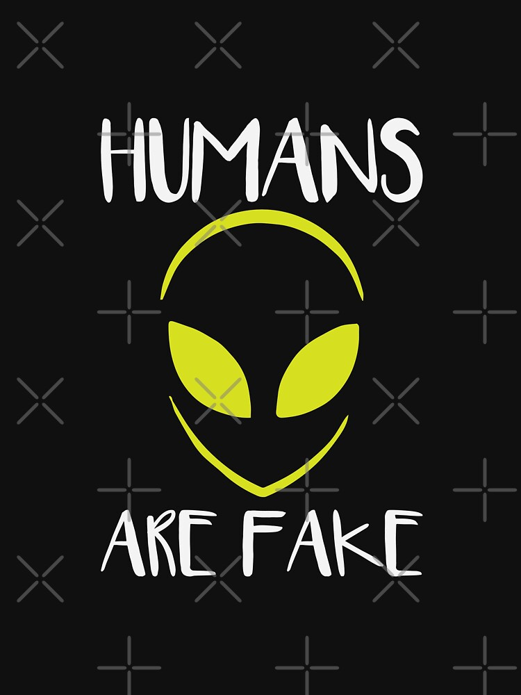 Humans Are Fake by DJBALOGH