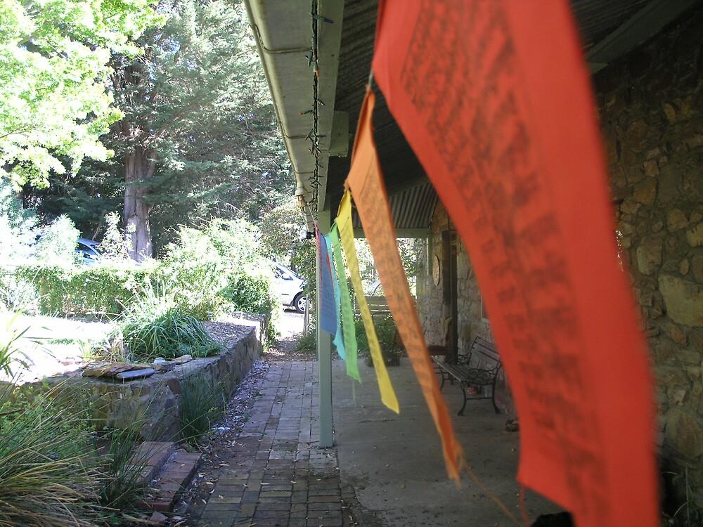 Buddhist Prayer flags by Ratfingers