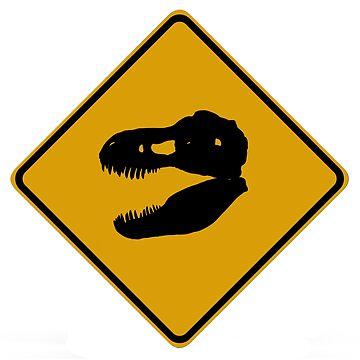 T-Rex Crossing by BigRedCurlyGuy