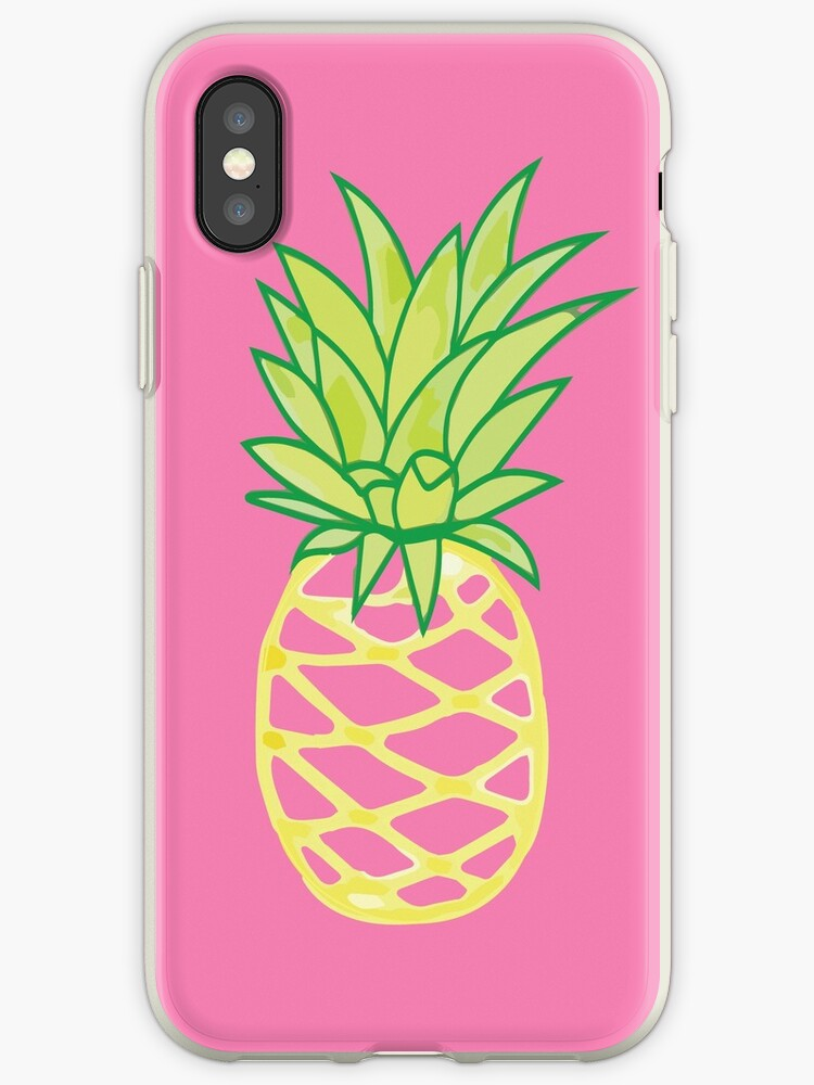 Ubrugte Ananas-Aufkleber, Ananas-Telefon-Kasten, Goldananas, Ananas RU-47