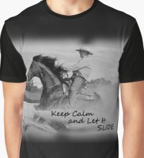 KEEP CALM. REINING HORSE Graphic T-Shirt