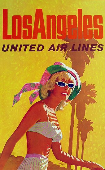 Los Angeles United Air Lines by vintagetravel