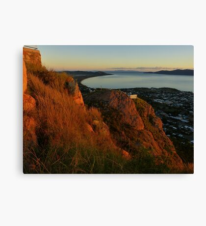Townsville at sunrise Canvas Print