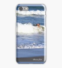 Surfer ~ With Too Much Surf! iPhone Case/Skin