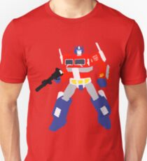 Optimus Prime Blocky <New and Improved> Unisex T-Shirt