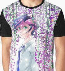 Yusaku Wisteria Graphic T-Shirt