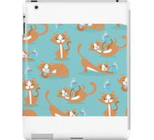 Cute Christmas Cat iPad Case/Skin