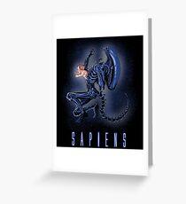Sapiens Greeting Card