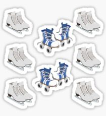Skating Sticker
