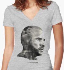 prison break movie Women's Fitted V-Neck T-Shirt