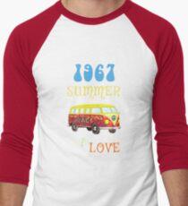 1967 Summer of Love Peace Van Hippie Graphic T-Shirt