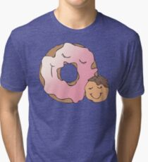 Feeling Loved Donuts Tri-blend T-Shirt