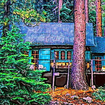 Cabin in the Woods by Aslan