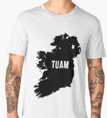 Tuam, Ireland Silhouette Men's Premium T-Shirt