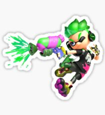 Splatoon 2 Inkling Boy Sticker