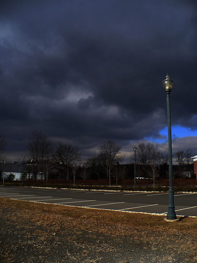 on a dark and dreary day by David Donio