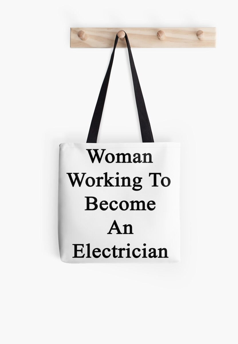 Woman Working To Become An Electrician  by supernova23