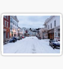 Mackinac Island is a city in Mackinac County in the U.S. state of Michigan. Sticker