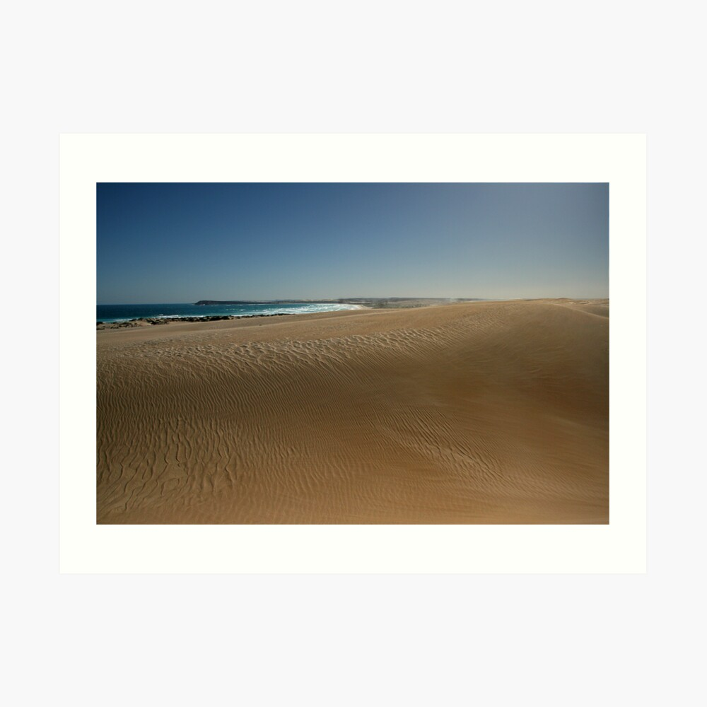 The Dunes at Fowlers Bay. Art Print