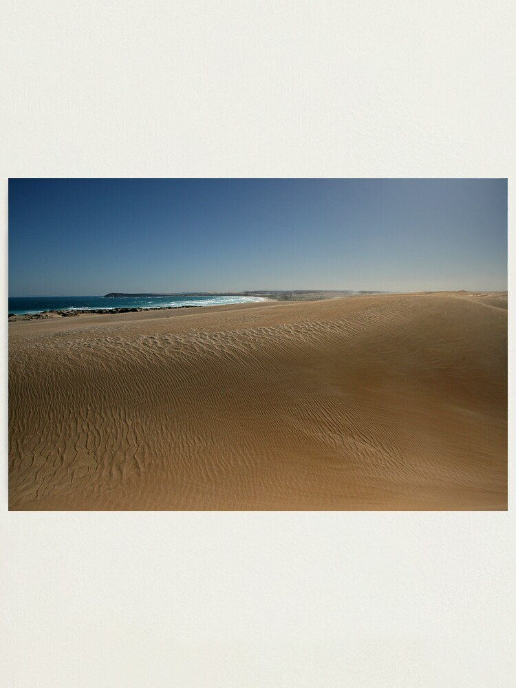 Alternate view of The Dunes at Fowlers Bay. Photographic Print