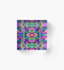 Color Bold, Color Bright Acrylic Block
