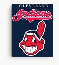 Cleveland Indians Baseball Team Chief Wahoo Canvas Print