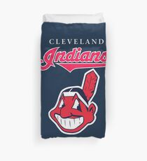 Cleveland Indians Baseball Team Chief Wahoo Duvet Cover