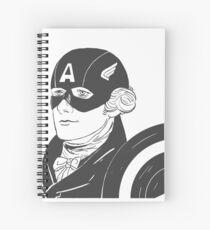 Captain Hamilton Spiral Notebook