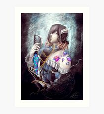 Bloodstained Art Print