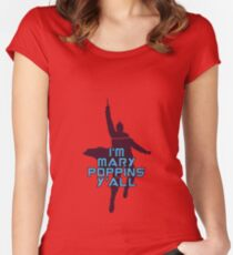 I'm Mary Poppins Y'all Women's Fitted Scoop T-Shirt