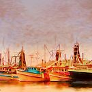 Coffs Harbour Fishing Trawlers by wallarooimages