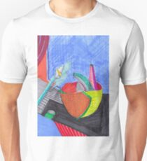 Vincent's still life - texta drawn T-Shirt