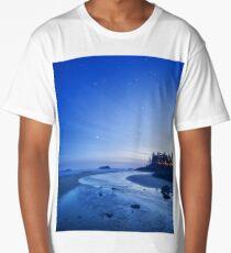 A Quiet Evening on MacKenzie Beach, Tofino, British COlumbia Long T-Shirt