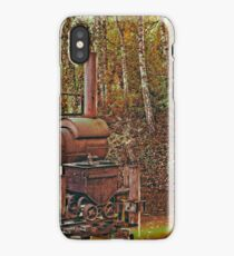 Machine from another time iPhone Case/Skin